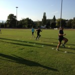 Team training PPC stade du bout du monde